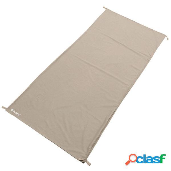 Outwell Forro de saco de dormir Cotton Liner 185x80 cm beige