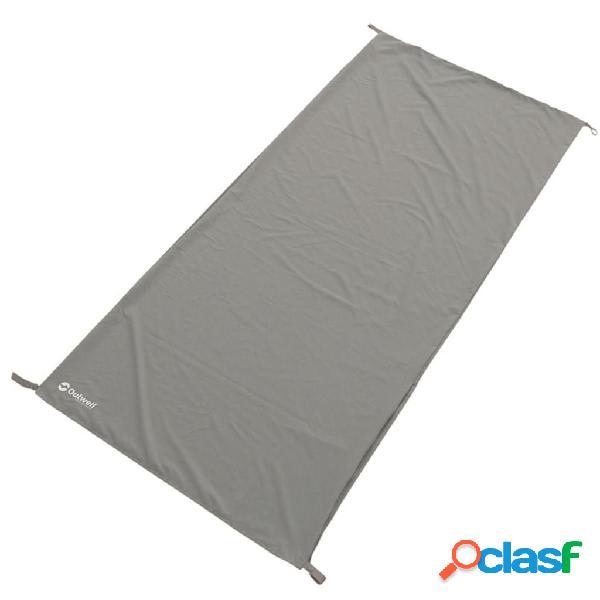 Outwell Forro de saco de dormir Poly Liner 185x80 cm gris