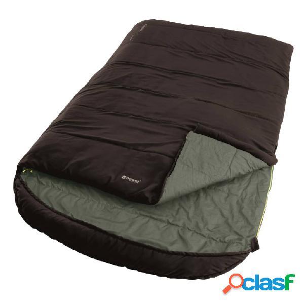 Outwell Saco de dormir 2 personas Campion Lux Double marrón