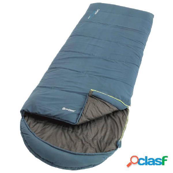 Outwell Saco de dormir Campion Lux para 3 estaciones azul