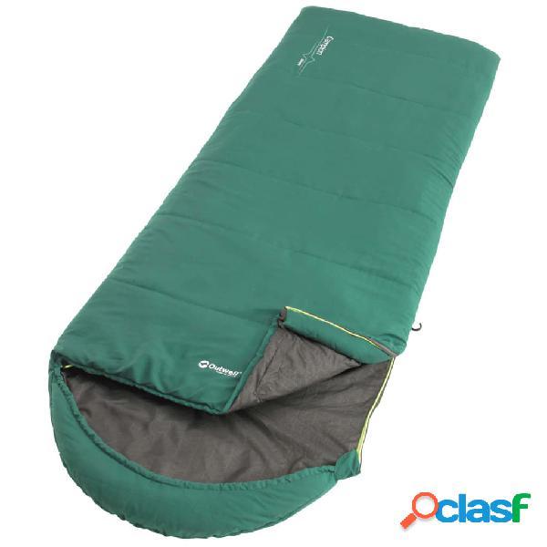Outwell Saco de dormir Campion para 2 estaciones verde