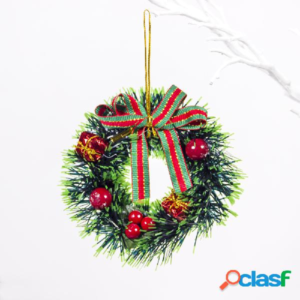 PVC creativo Mini guirnalda de Navidad Decoración de