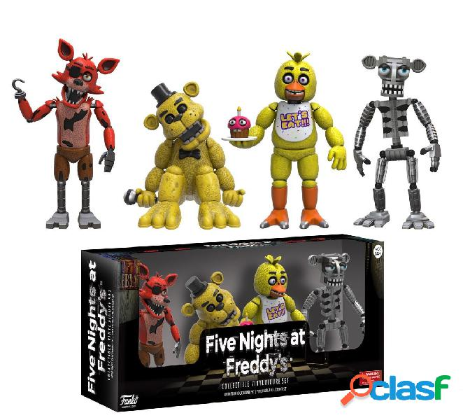 Pack 4 minifiguras Five Nights at Freddy's