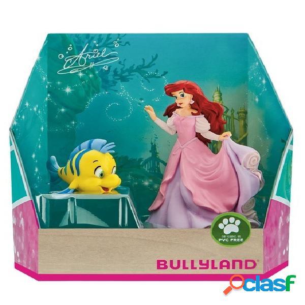 Pack Figuras Ariel y Flounder La Sirenita