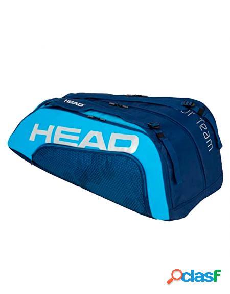 Paletero Head 12R Tour Team Monstercombi azul - Paleteros