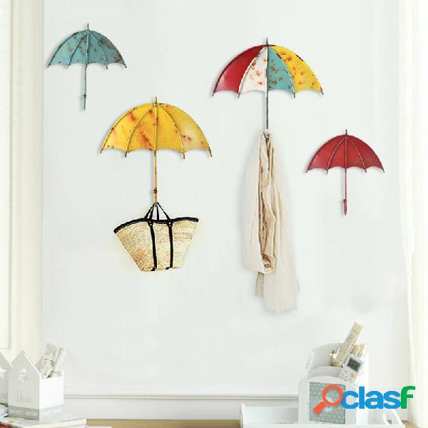 Paraguas en forma de pared creativa fuerte Gancho Clave