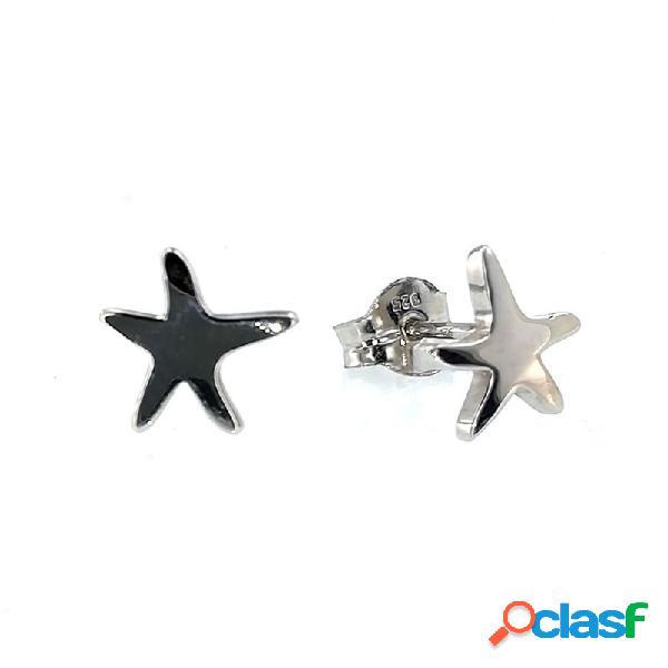 Pendientes Plata Estrella 013498-1-1