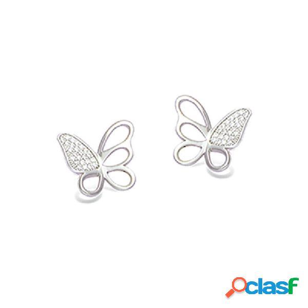 Pendientes Plata Mujer Mariposa 21ep048cz
