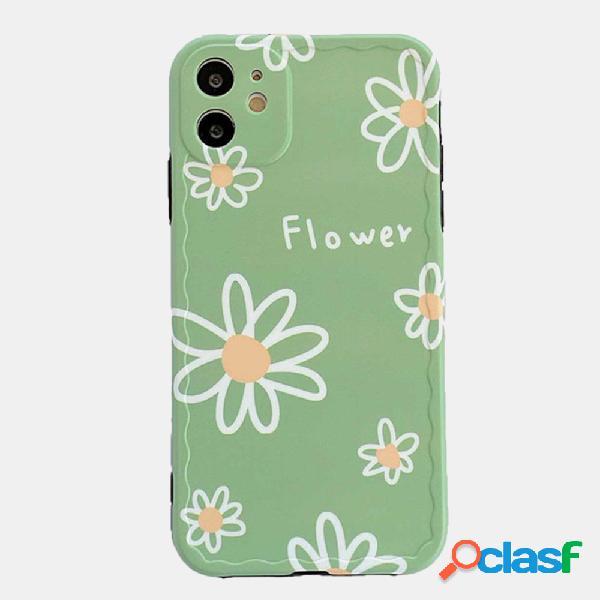 Pequeño teléfono móvil Daisy Caso para Iphone Silicona