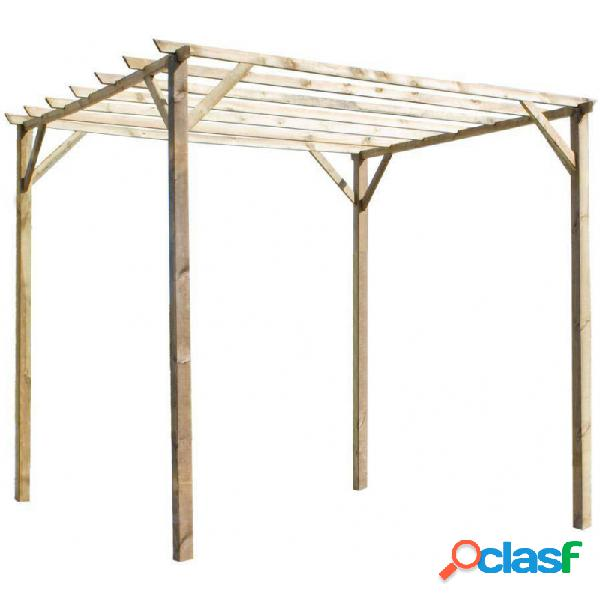 Pergola madera forest ancolie 3 x 3