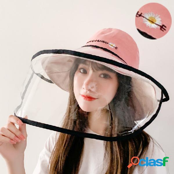 Pescador antiniebla extraíble Sombrero Anti-niebla Sombrero