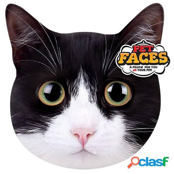 Pet Faces Cojín con cara de mascota gato exótico
