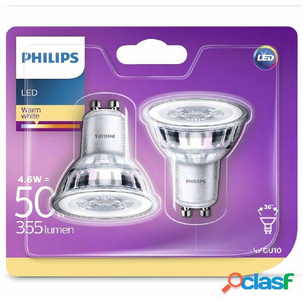 Philips Bombillas de foco LED 2 uds Classic 4,6 W 355 lm