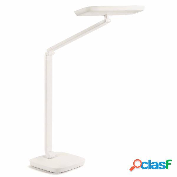 Philips Lámpara de mesa LED Gadwall base pinza 11 W blanca
