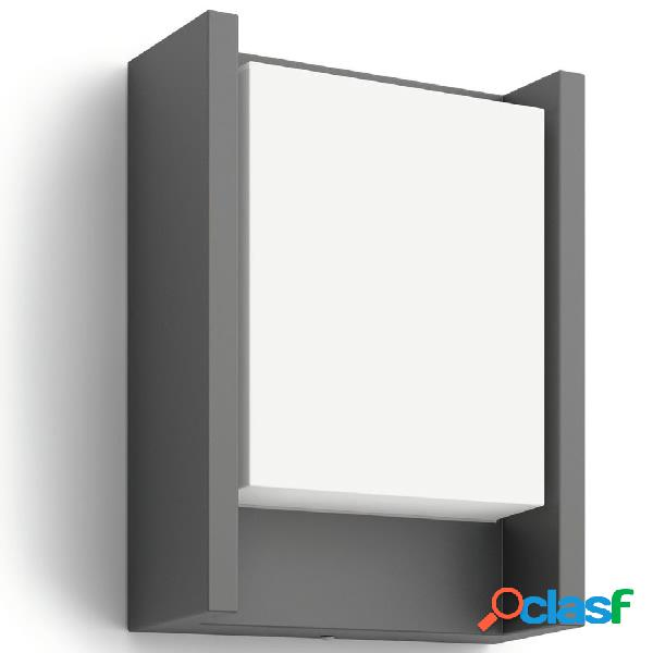 Philips myGarden Lámpara de pared LED Arbour 6 W antracita