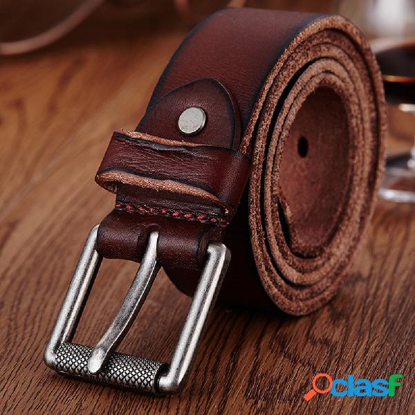 Piel Genuina Cinturón para hombre Cintura casual Correa