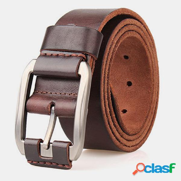 Piel Genuina Hombre Cinturón Cintura casual Cintura Correa