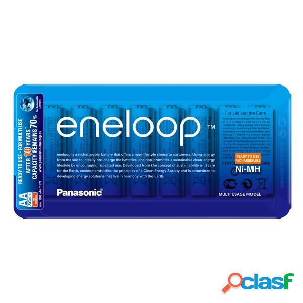 Pilas Panasonic Eneloop Aa - caja de almacenamiento eneloop