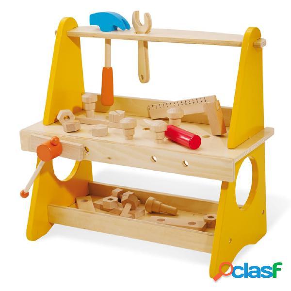 Pinolino Banco de trabajo de juguete Basti