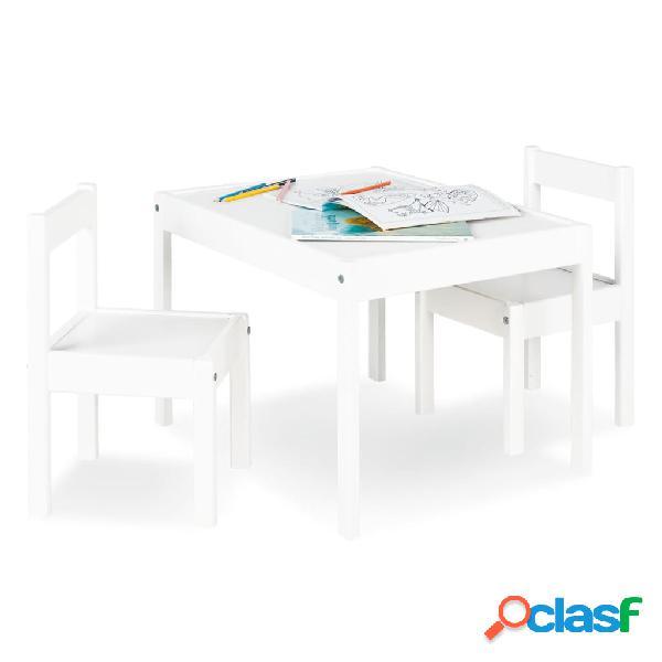 Pinolino Juego de mesa y sillas para niños Sina