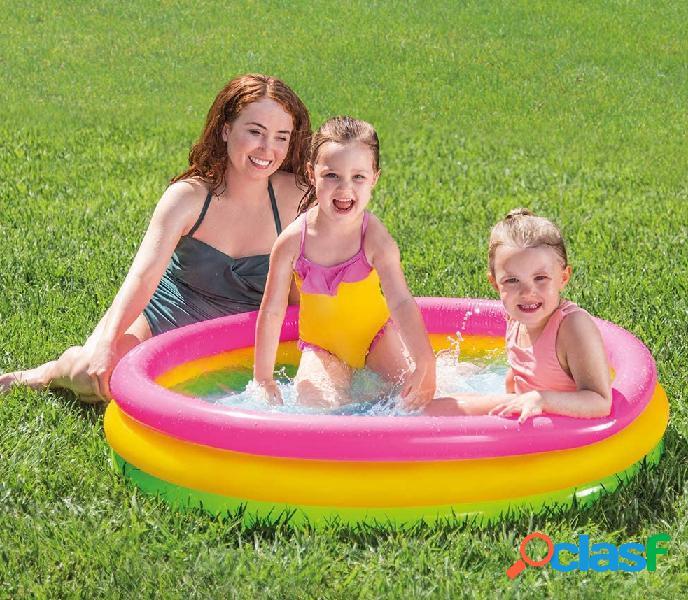 Piscina Hinchable para niños 114x25 cm