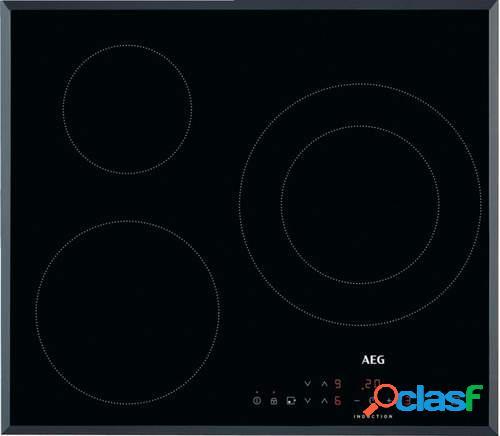 Placa Inducción AEG IKB6330SFB - 3 Zonas (1 de 28cm), 60cm,