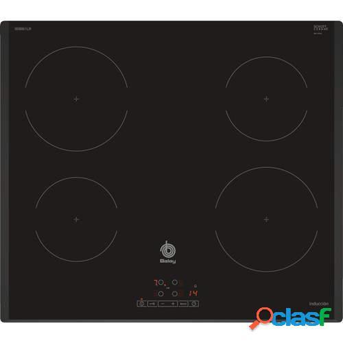 Placa Inducción Balay 3EB861LR - 60cm, 4 Zonas, 17