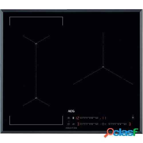 Placa Induccion AEG IAE63421CB - 3 Zonas (Grande 28cm),