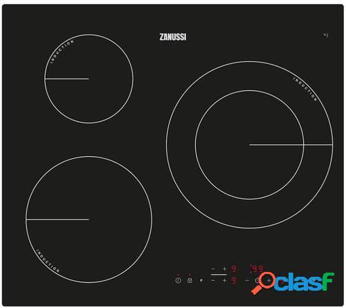 Placa de Inducción Zanussi ZM6233IOK - 3 Zonas (1 Gigante