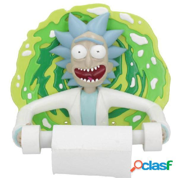 Portarrollos de papel higienico Rick y Morty