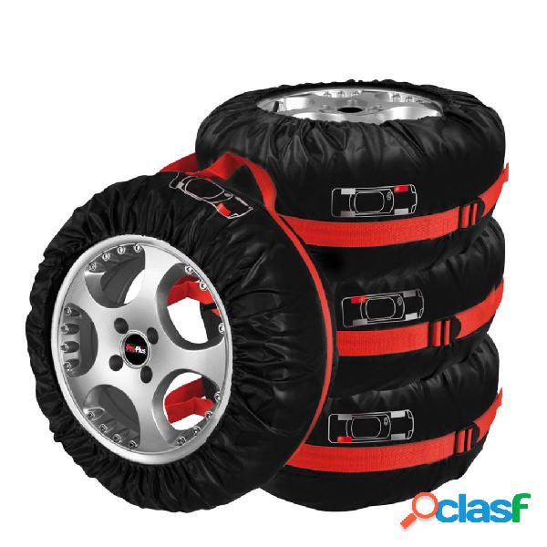 ProPlus Set de 4 fundas para neumáticos / ruedas 390056