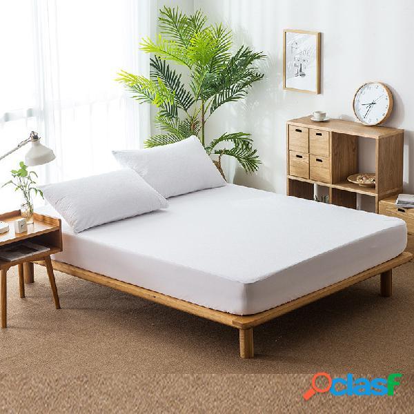 Protector de colchón impermeable Funda de cama transpirable