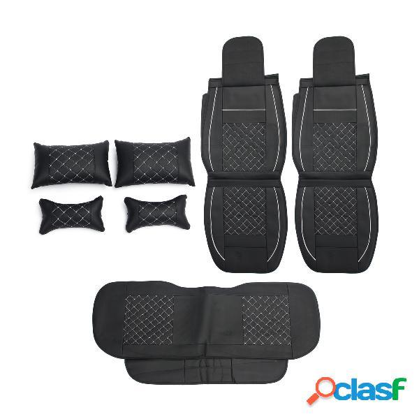 Protector de la cubierta del asiento de carro del cuero de