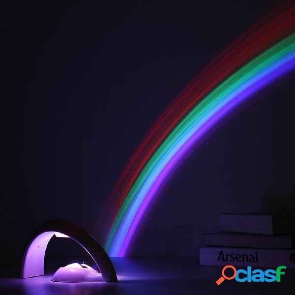 Proyector Rainbow Night Light Lampara de noche Multicolor