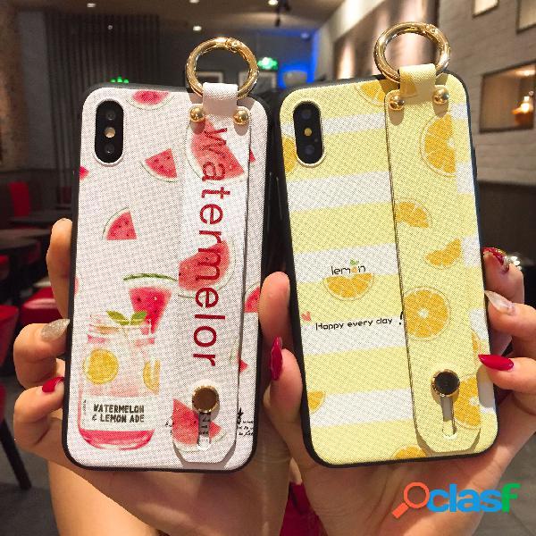 Pulsera Anillo Hebilla Soporte de iPhone Cubierta protectora