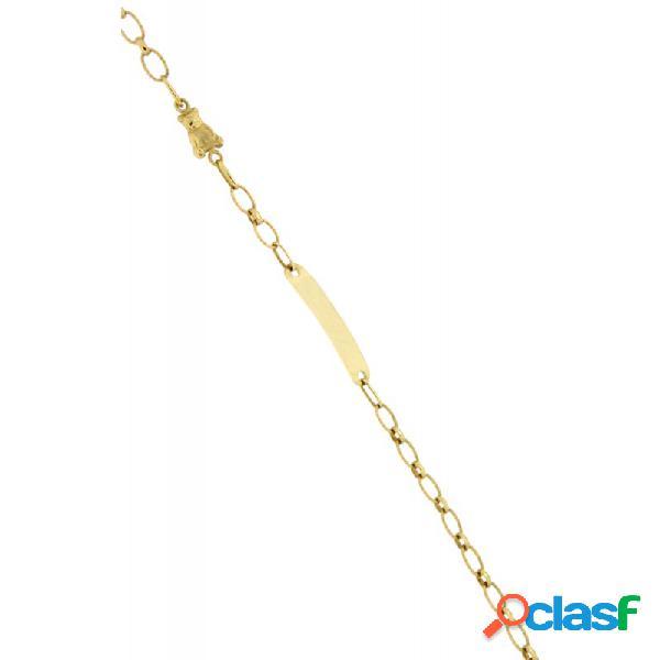 Pulsera Oro 18k Niña 4784-sat