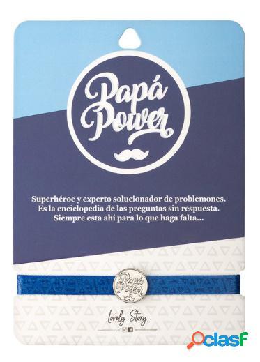 Pulsera charm Papa power