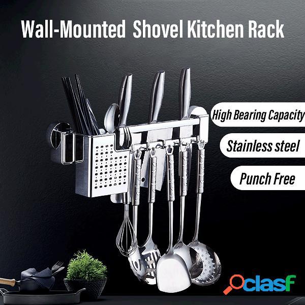 Racks de cocina de acero inoxidable Palillos para colgar en