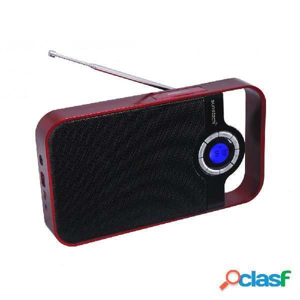 Radio Portátil SUNSTECH RPDS250RD