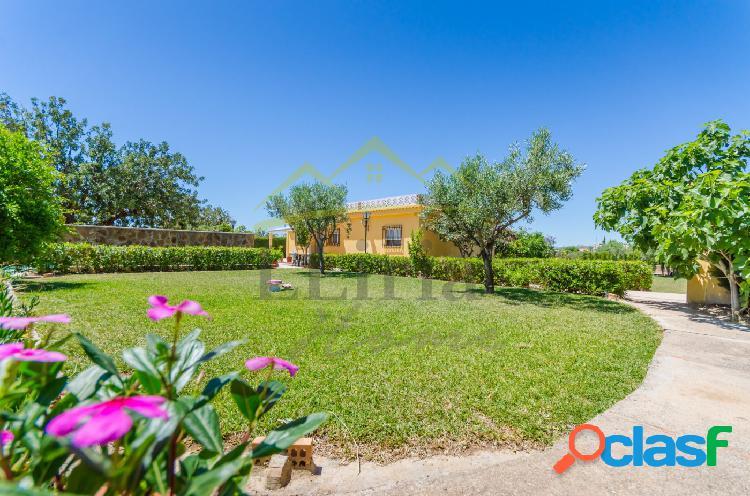 Ref. 03819 - Chalet con jardín, huerto y balsa (Pla de