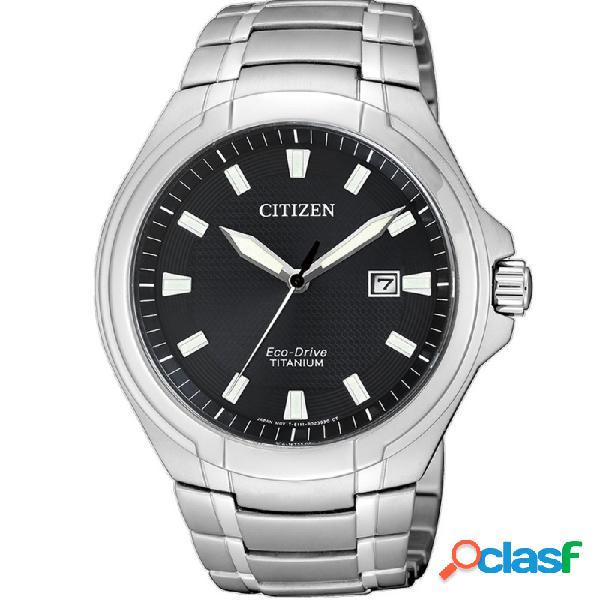 Reloj Citizen Eco-drive Super Titanium Hombre Bm7430-89e