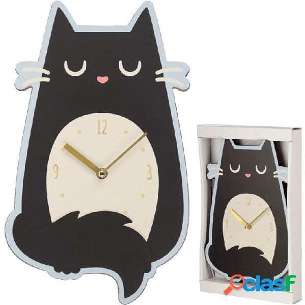 Reloj de pared Gato