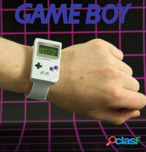 Reloj de pulsera Game Boy