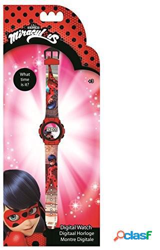 Reloj de pulsera digital Ladybug