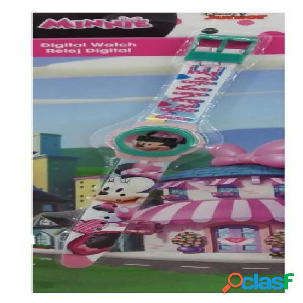 Reloj de pulsera digital Minnie