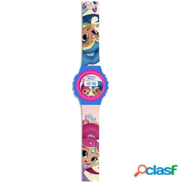 Reloj de pulsera digital Shimmer y Shine