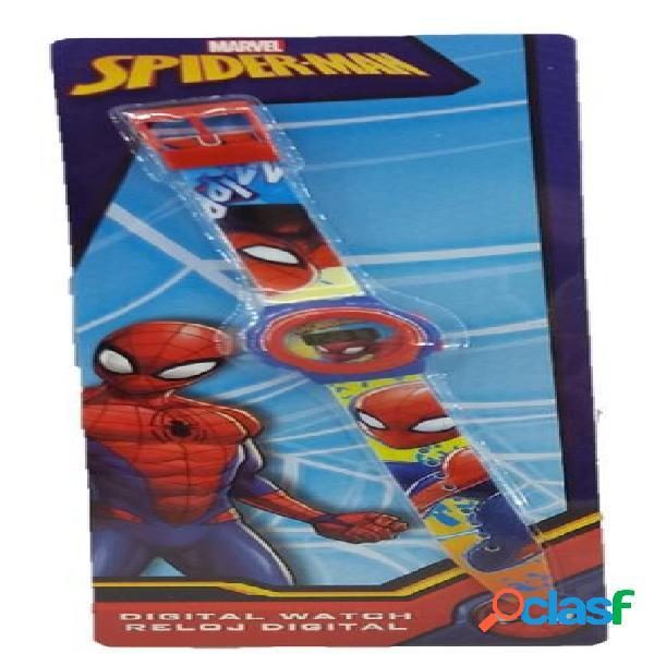 Reloj de pulsera digital Spiderman
