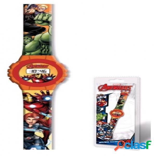 Reloj digital Avengers Marvel