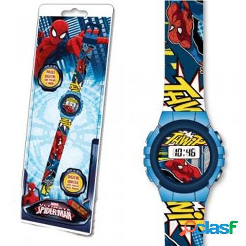 Reloj digital Spiderman