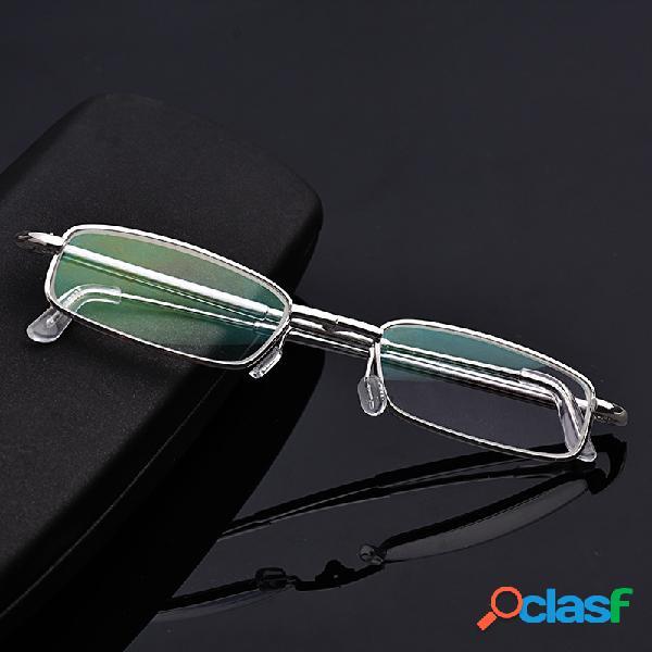 Resina presbicia lupa plegable elástica Lente Lectura Gafas
